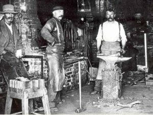 Early Blacksmiths of Gallatin County