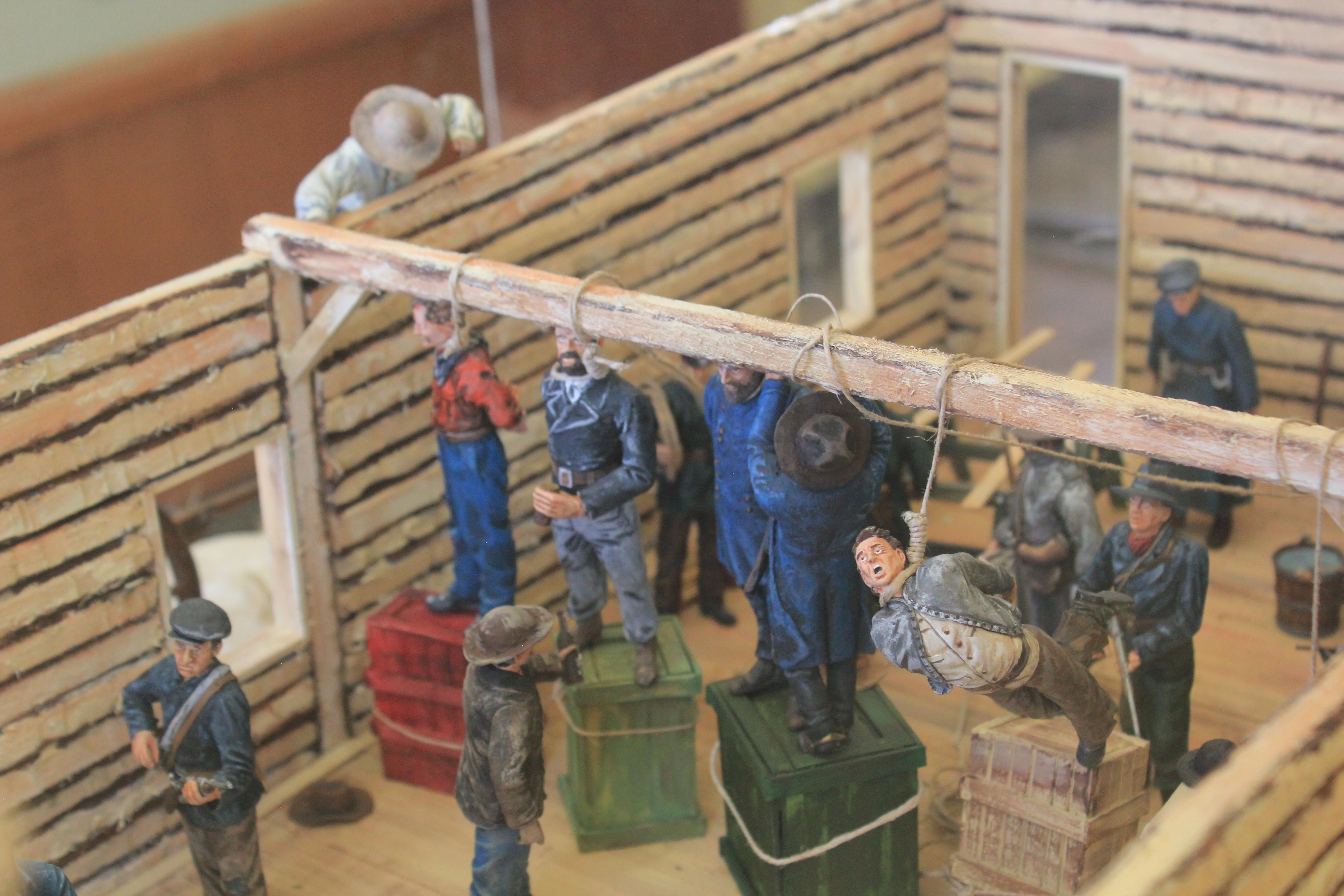 Hangmans Diorama